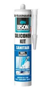 Bison Sil.Kit Sanitair Wit -300ml/Koker