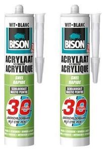 Bison Acrylaatkit Wit 30 Minuten -150ml/Hangtube