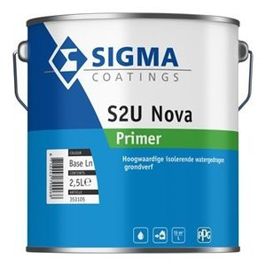 Sigma S2u Nova Primer 2,5L Alle Kleuren