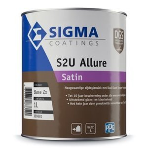Sigma S2u Allure Satin 1L Alle Kleuren