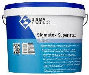 Sigmatex Superlatex Matt 10L Alle Kleuren