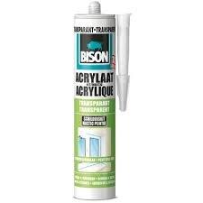 Bison Acrylaatkit Transparant -300ml/Koker