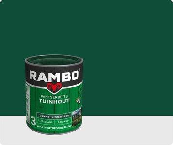 Rambo Pantserbeits  zijdeglans  Dekkend Lommergroen 1130 0,75Ltr