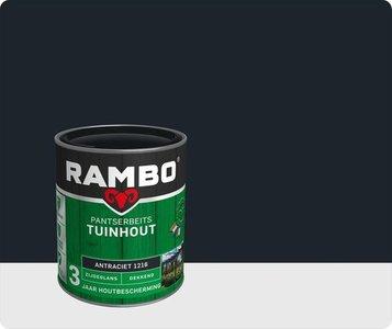 Rambo Pantserbeits  zijdeglans  Dekkend Antraciet 1216 0,75Ltr