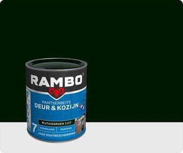 Rambo Pantserbeits Deur&Kozijn hoogglans Dekkend Rijtuiggroen 1127 0,75Ltr