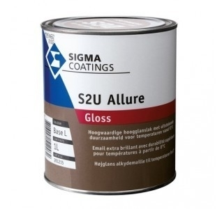 Sigma S2U Allure Gloss 0,5L - 2,5L / alle kleuren
